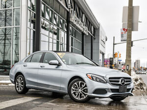 2017 Mercedes-Benz Classe C 4MATIC SedanPremium 1 Pkg, LED Performance Lights