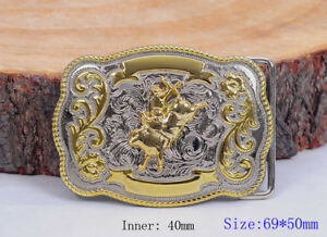 Rock-Bull-Ride-Rodeo-Long-enorme-RODEO-Big-Cowboy-Texas-Western-Shine-Boucle-de-ceinture