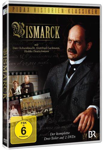 1 von 1 - Bismarck * DVD 3 Teiler mit Uwe Ochsenknecht DVD der Eiserne Kanzler Pidax Neu