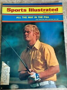 SPORTS ILLUSTRATED MARCH 6 1971, JACK NICKLAUS WINS ANOTHER BIG ONE