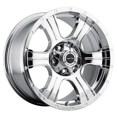 "20/"" Vision 396 Assassin Black Wheel 20x9 8x180 10mm Chevy Silverado GMC 8 Lug"