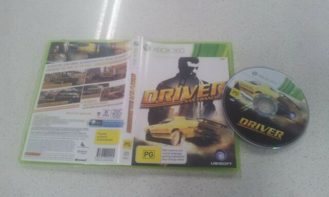 Xbox 360 Game Driver San Francisco For Sale Online Ebay