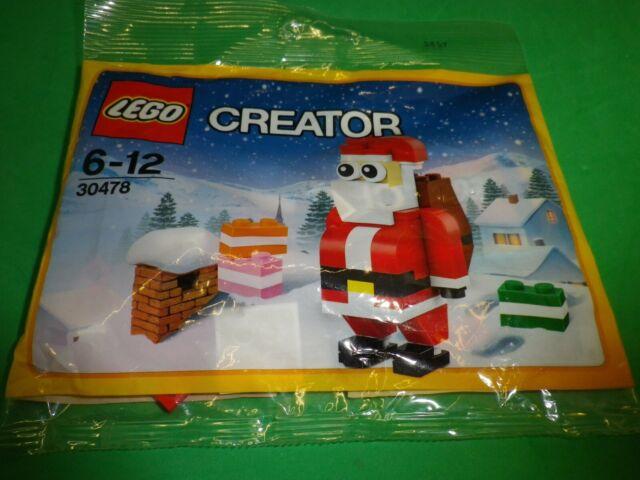 Lego © Creator, Blister Packung Polybag Nr. 30478 WEIHNACHTSMANN NIKOLAUS, neu