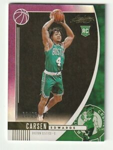 2019-20-Panini-Absolute-Rookie-RC-Purple-Carsen-Edwards-SP-25-Celtics-Hobby