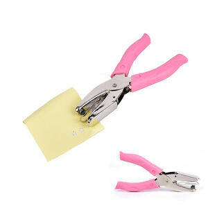 1-4-034-Star-Hole-Punch-Pliers-For-Cushion-Comfort-Ergonomic-Paper-Hand-Puncher-O