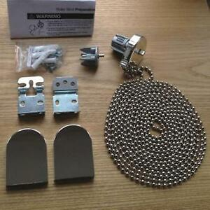 Chrome Effect Metal Bracket Roller Blind Repair Kit