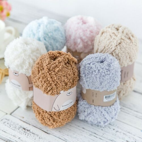 50g 12 Colors Sirdar Snuggly Snowflake DK Soft Baby Crochet Yarn Knitting