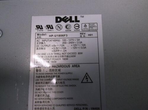 Dell Power Supply HP-U2106F3 Optiplex GX280 U5425  REV AO1
