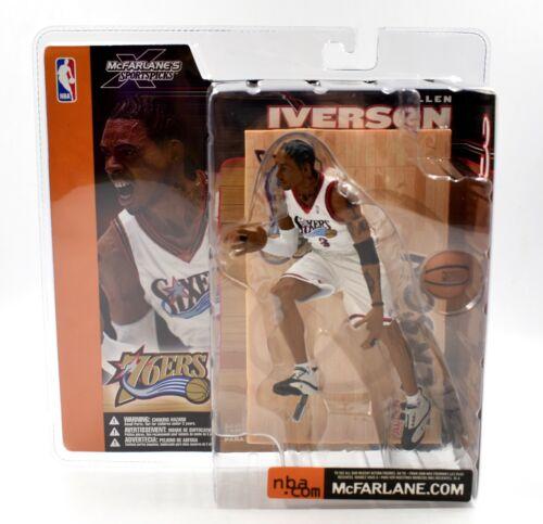 Allen Iverson Action Figure McFarlane Sports Picks NBA Series 1