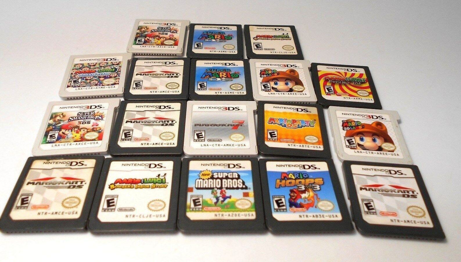 Nintendo ds & 3ds MARIO games go select title lite dsi xl 2ds 3ds game 1