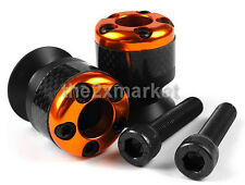 5 Color 8mm Carbon Fiber Swingarm Sliders Spools For Honda CBR400RR 1993-1997