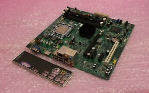 Dell-G43T-DM1-18D1Y-018D1Y-Socket-LGA775-DDR3-VGA-HDMI-carte-mere-amp-Plaque-Arriere