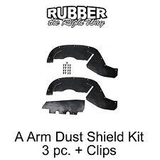 1996 1997 1998 1999 Chevy GMC Suburban Tahoe A Arm Dust Shields 2WD 1/2  3/4 Ton