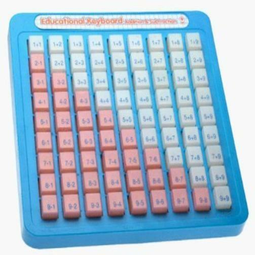 New Kids Small World Toys Preschool Pluses The Minuses Math Keyboard Toddler Toy