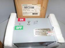 New In Box Ite Siemens Bec3100 100 Amp Busway Circuit Breaker Plug 600vac 100a