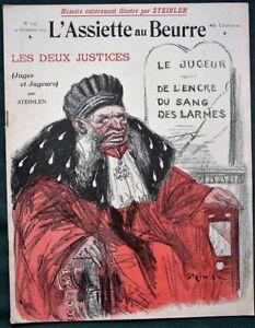 L-039-Assiette-au-Beurre-137-Two-Justices-Judges-amp-Judged-1903-French-Satire-Art