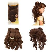Disney Store Belle Costume Wig For Kids Beauty And The Beast