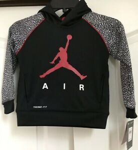 62924cef3c2d NWT NIKE AIR JORDAN JUMPMAN THERMA-FIT Boys Pullover Hoodie ...
