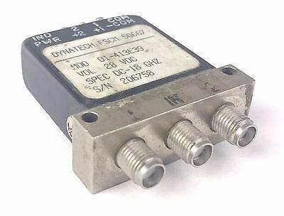 DYNATECH FSCM 50667 Coaxial Switch DC-12.4 GHz