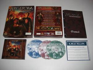 ARCATERA-The-Dark-Brotherhood-Pc-Cd-Rom-Original-BIG-BOX