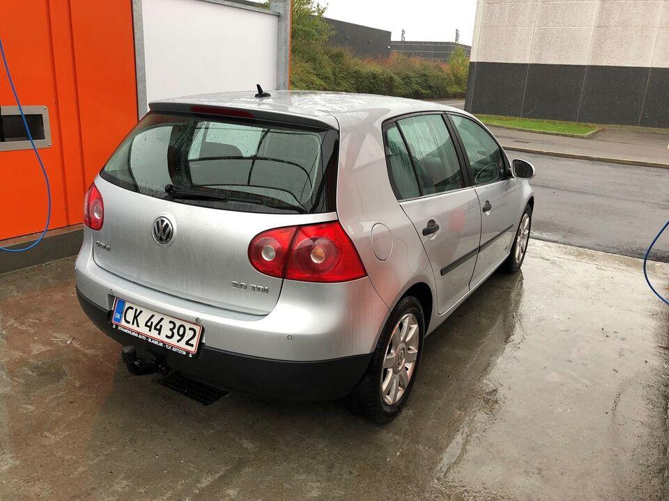 VW Golf V, 2,0 TDi 140 Comfortline DSG, Diesel