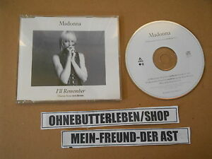 CD-pop-Madonna-I-039-ll-remember-4-chanson-eoliennes-sire-GERMANY