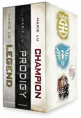 Legend Trilogy Boxed Set Series 1-3 Marie Lu Legend Prodigy Champion NEW