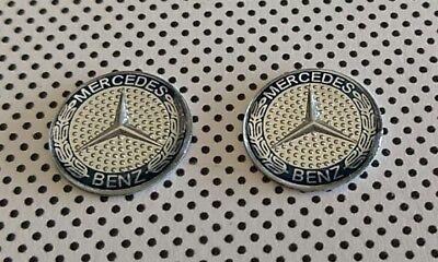 Mercedes benz 15 mm Remote key fob logo Emblem badge sticker 2 pcs.