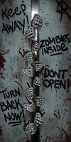 Scary Zombie Spooky Halloween Door Cover 30 X 60 Plasticreusabletotally Ghoul