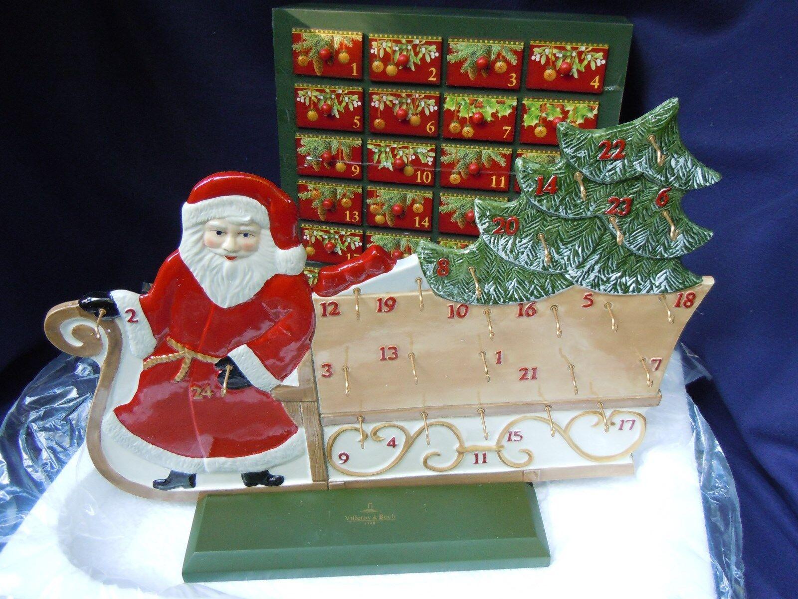 Calendario de Adviento santas trineo Villeroy & Boch 'Christmas Toys Memory'