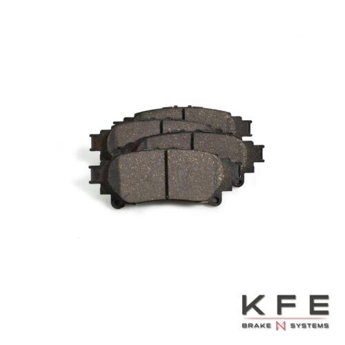 REAR NEW Set With Shims KFE908 KFE1391 Premium Ceramic Disc Brake Pad FRONT