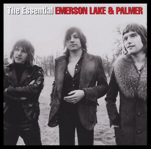 EMERSON-LAKE-amp-PALMER-2-CD-THE-ESSENTIAL-GREATEST-HITS-BEST-OF-ELP-NEW