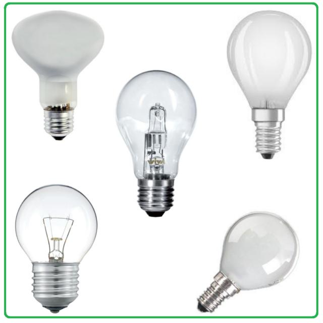 60W E14 Sfera Cilvani 10 Lampada//Lampadina alogena a risparmio energetico 42W