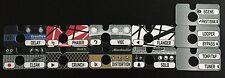 GIGWRX Premade Pedal/Amp Magnetic Labels For Fractal Audio FX8 FX-8