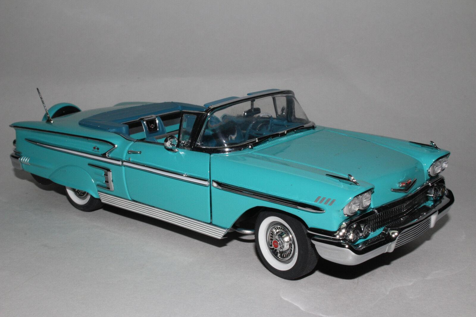 Danbury Mint 1958 Chevrolet Impala Impala Impala Congreenible, 1 24 Scale Die Cast Model c3caad