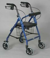 Junior Rollator With Loop Brakes Person 4' 9 To 5' 2 •soft Padded Seat Baske