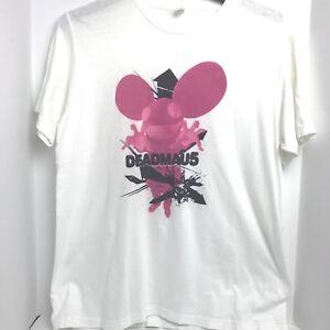 Large DEADMAU5 T-Shirt mens womens Rave Music Club Dance