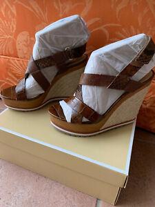 Details zu Michael Kors Schuhe Sandalen Wedge gr.38 OVP