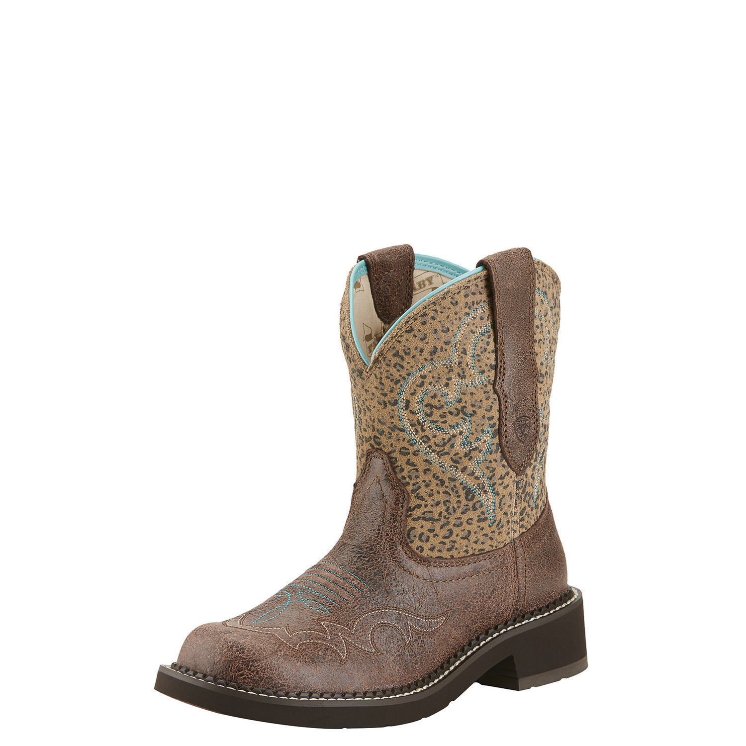 Ariat 10015363 Fatbaby Fatbaby Fatbaby Heritage Harmony 8  Short Wide Calf Cowgirl Riding Boots 0a223d