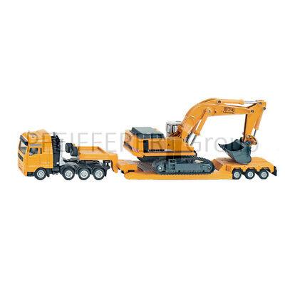Gutherzig Siku Super 1:87 Man Tg-a Mit Kettenbagger Baufahrzeuge & Traktoren Spielzeug