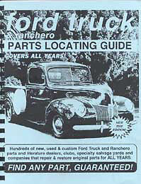 Book to Find Ford Pickup Parts 1949 1950 1951 1952 1953 1954 1955 1956 1957 1958