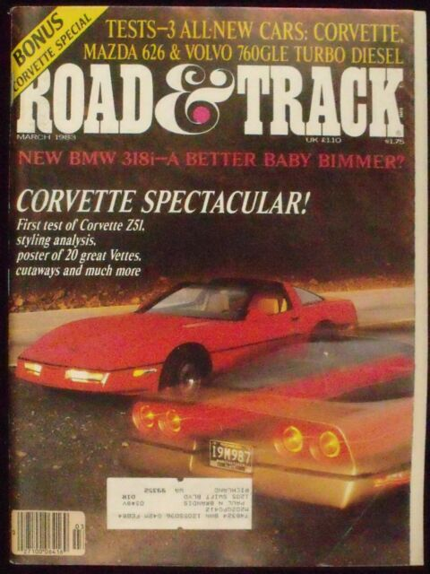 ROAD & TRACK, VOL. 34, NO. 7, MARCH 1983