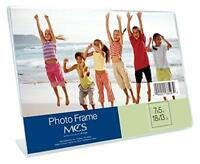Mcs Bent Acrylic Picture Frame 5 By 7-inch, Horizontal, New, Free Shipping