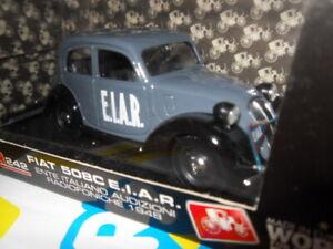 Brumm-1-43-Escala-Modelo-R242-de-metal-Fiat-508C-e-i-a-r-Radiofoniche-1948-Nueva-En-Caja