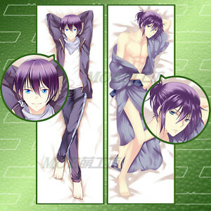 Anime Noragami Yato Yukine Pillow Case Cover Hugging Body 20x60 inches