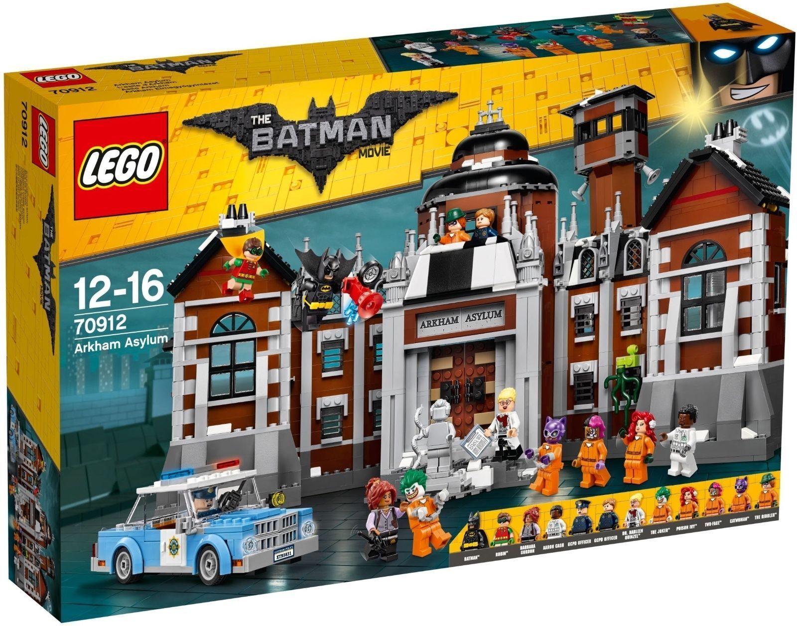 LEGO® THE LEGO® BATMAN MOVIE 70912  Arkham Asylum  Exklusives Set NEU OVP
