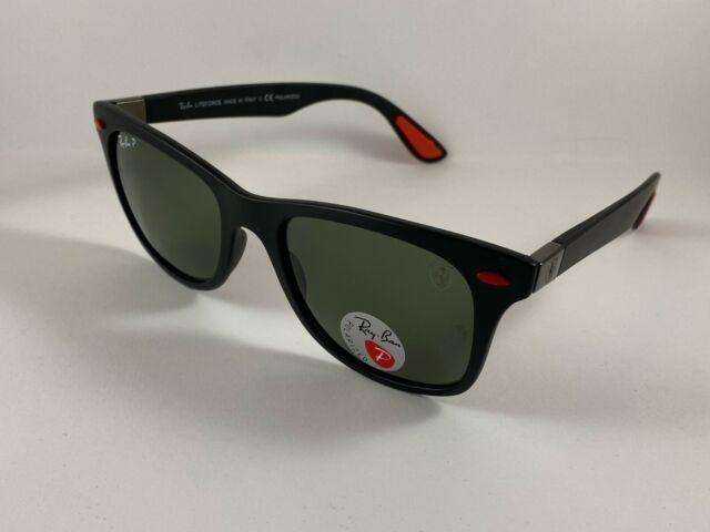 Ray Ban Rb4195m F602 71 Scuderia Ferrari Sunglasses For Sale Online Ebay