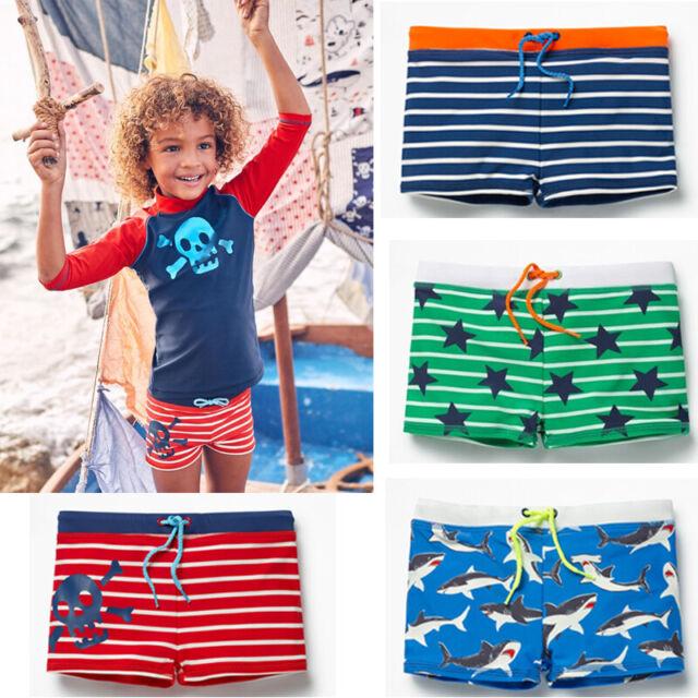 Swimming Trunks Shorts UV Sun Protect Pants Beach Summer Bottom Boys Kids Outfit