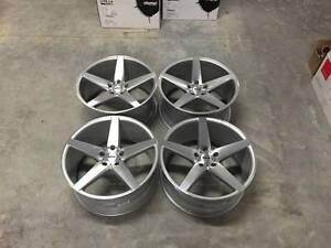 19-034-Veemann-V-FS8-Wheels-Silver-Machined-VW-Audi-Mercedes-5x112-A4-A6-Passat