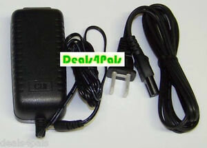 Extra long 12vdc ac adapter power supply fits yamaha for Yamaha pa150 keyboard ac power adapter